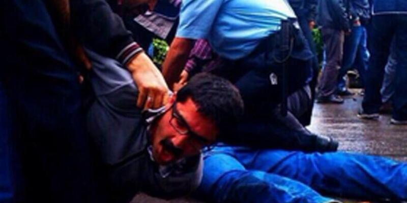 Soma'da avukatlar tekme tokat gözaltına alındı