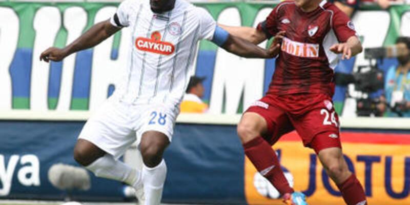 Süper Lig: Çaykur Rizespor - Elazığspor: 3-1