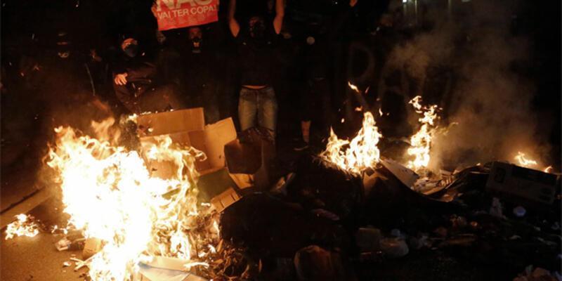 Brezilya'da polis greve çıktı, dükkanlar yağmalandı