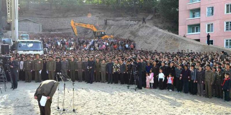 Kuzey Koreli yetkili halktan böyle özür diledi