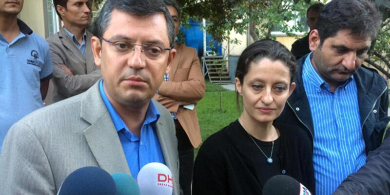 CHP'li vekil Özgür Özel'den gözaltı açıklaması