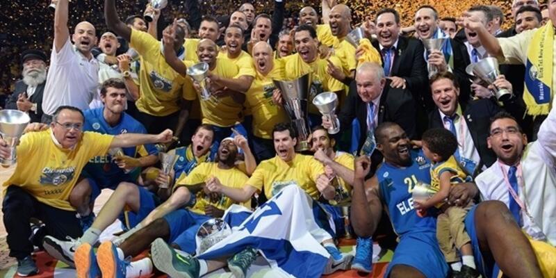 THY Avrupa Ligi Finali: Real Madrid: 86 - Maccabi Electra: 98