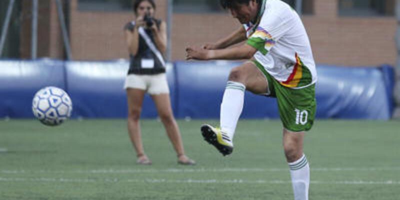 Bolivya Devlet Başkanı 1. Lig takımıyla sözleşme imzaladı!