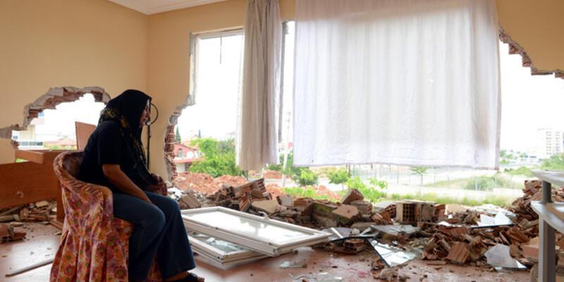 Boşanma davası açan eşinin evini yıktırdı!