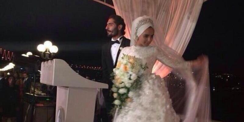 Galatasaraylı futbolcu Hamit Altıntop evlendi