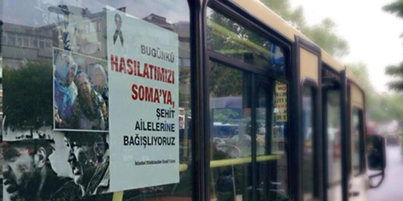 Minibüsçüler hasılatlarını Soma'ya bağışlayacak