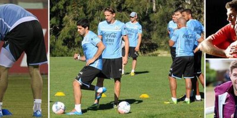 Uruguay şokta: Suarez sakatlandı