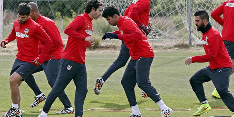 Arda ve Diego Costa antrenmanda
