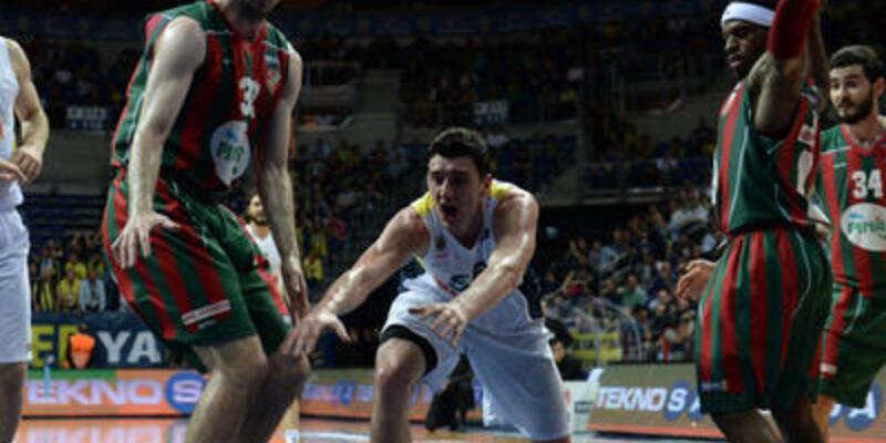 Beko Basketbol Ligi Play-off: Fenerbahçe Ülker: 88 - Pınar Karşıyaka: 69