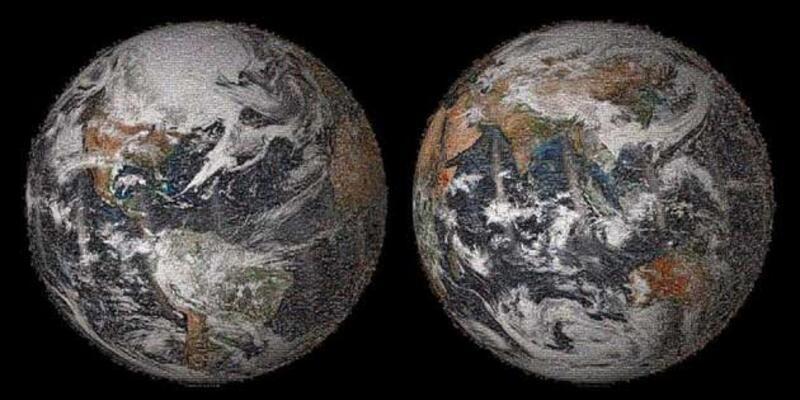 NASA'dan dünyanın en büyük Selfie'si