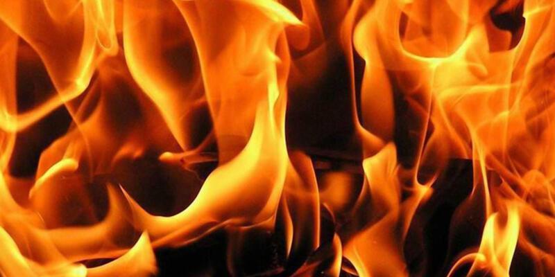 Denizli Honaz'da yangın: 2 çocuk öldü