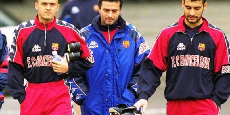 Yıl: 1998... Luis Enrique, Jose Mourinho ve Pep Guardiola