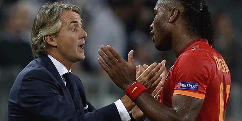 Mancini'den Drogba'ya övgü dolu sözler