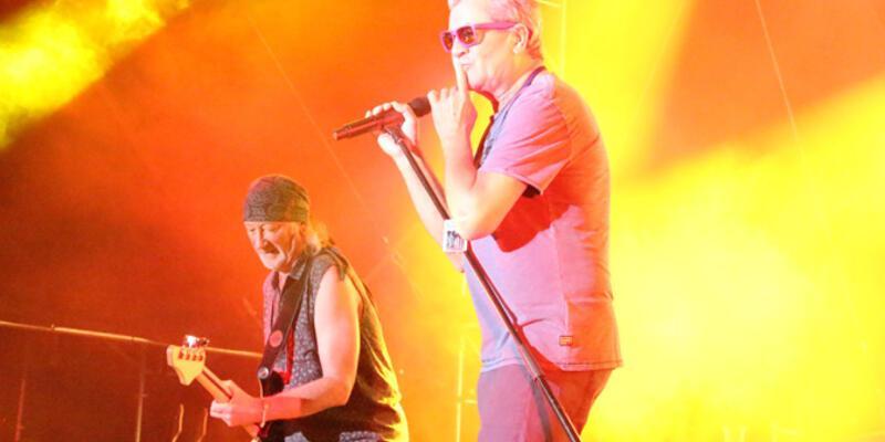 Deep Purple KKTC'de konser verdi