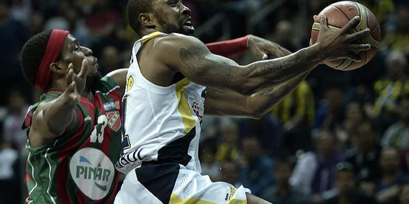 Beko Basketbol Ligi Play-off: Fenerbahçe Ülker: 94 - Pınar Karşıyaka: 83