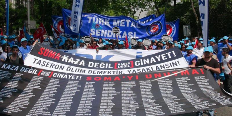 """Kadıköy'de """"taşerona hayır"""" mitingi"""