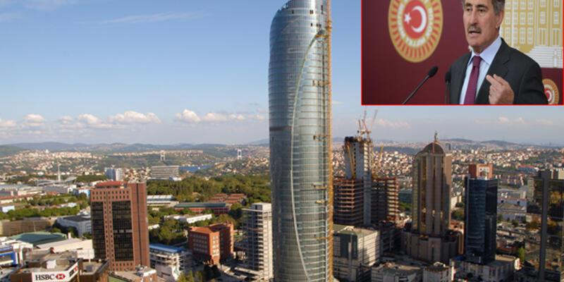 """Ertuğrul Günay, Şehircilik Bakanına """"Spine Tower""""ı sordu"""