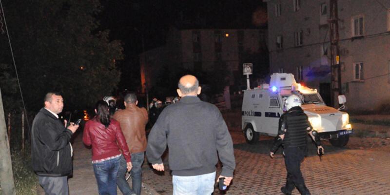 Tunceli'de uzman çavuşun evine molotoflu saldırı