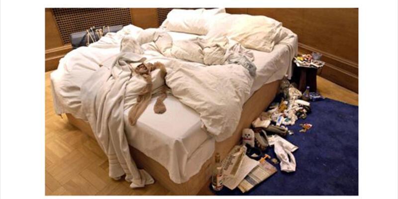 Tracey Emin'in yatağı satışa çıkarıldı