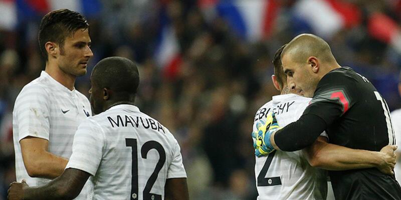Dünya Kupası Hazırlık Maçı: Fransa - Norveç: 4-0