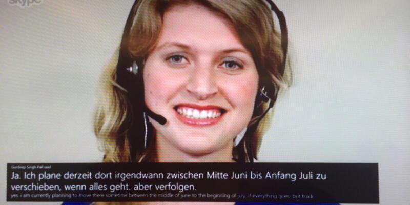 Skype'a anlık sesli çeviri özelliği geliyor