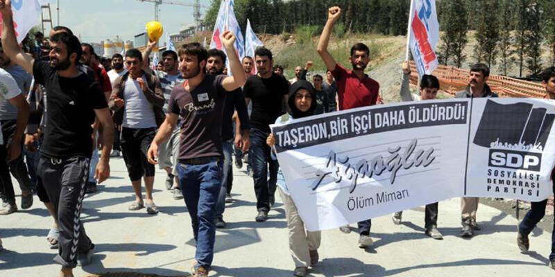 Maslak 1453'teki ölüm protesto edildi