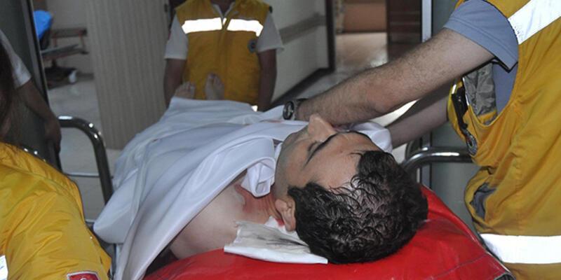 3 yaşındaki oğlunun boğazını kesen baba tutuklandı