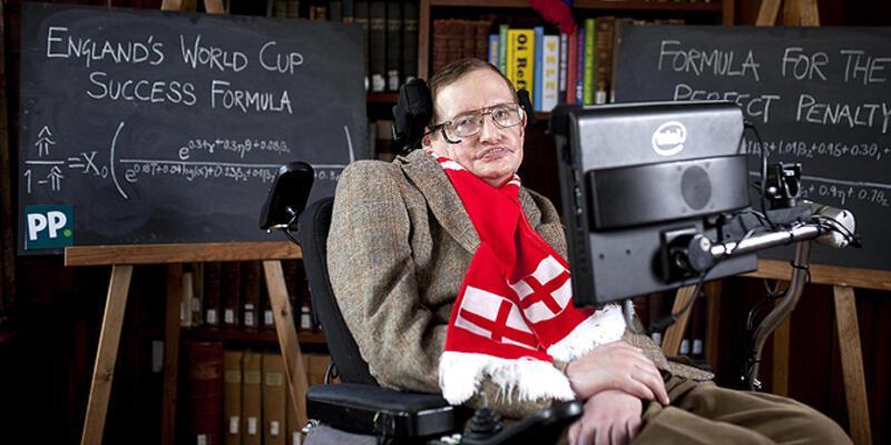Stephen Hawking'den İngiltere için şampiyonluk formülü!