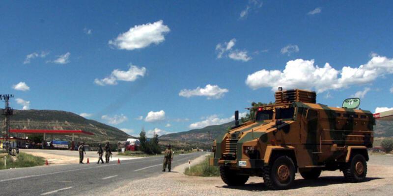 Diyarbakır - Bingöl karayolunda polis müdahalesi
