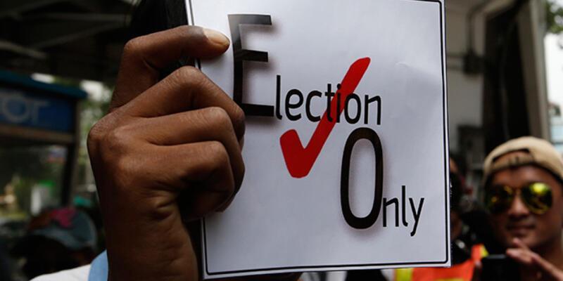 Tayland'da seçimler 1 yıl sonra yapılacak