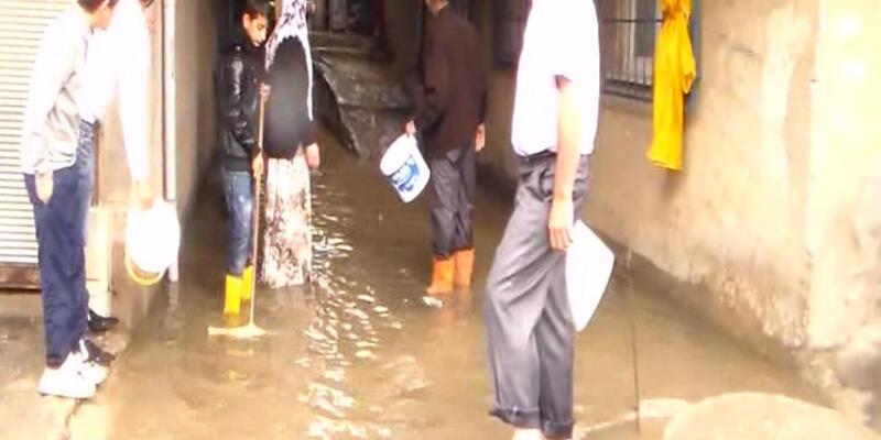 İstanbul'da su baskınları...