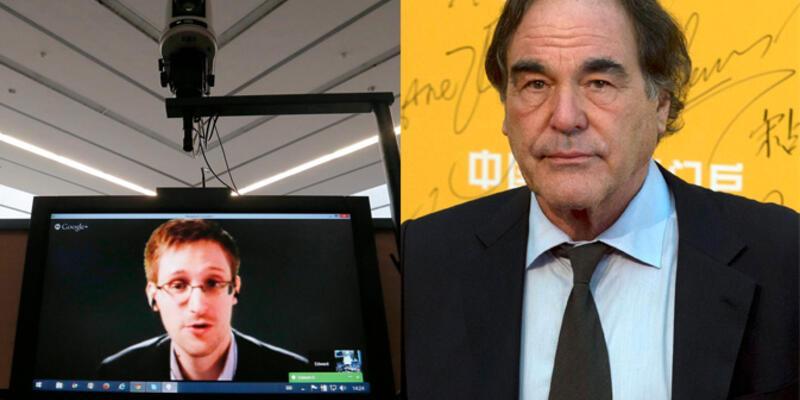Oliver Stone, Snowden'ın filmini çekecek