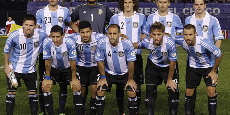 Arjantin'in 23 kişilik Dünya Kupası kadrosu