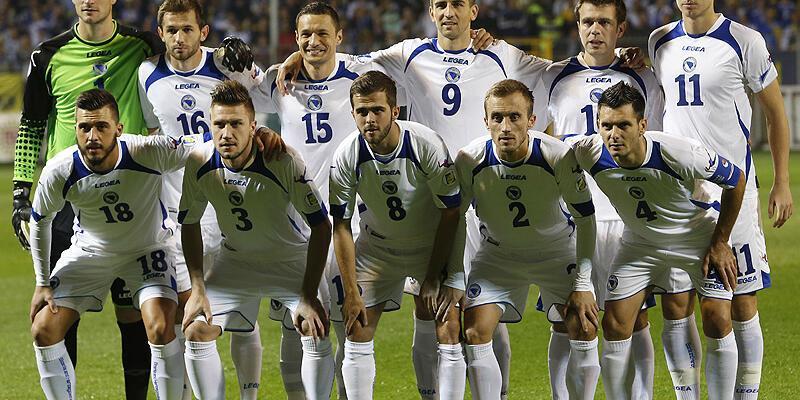 Bosna Hersek'in 23 kişilik Dünya Kupası kadrosu