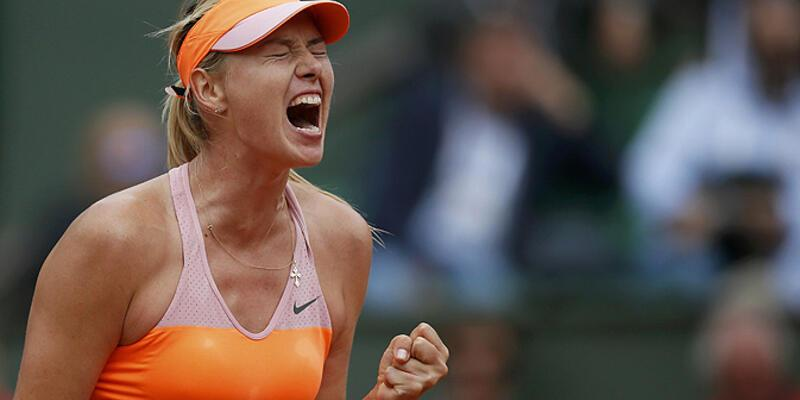 """Sharapova """"Muguruza'nın rüyası""""nı kabusa çevirdi"""