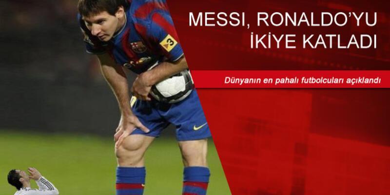 Messi'nin değeri açıklandı: Ronaldo'yu ikiye katladı!