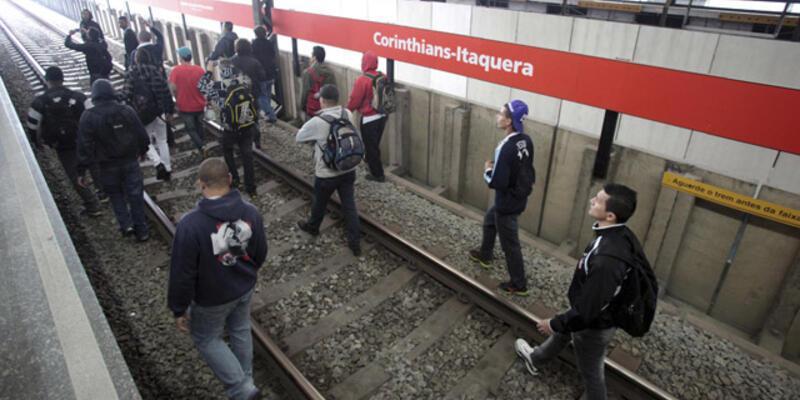 Sao Paulo'da metro grevi