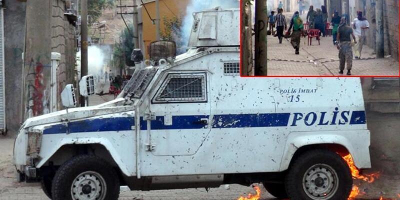 Cizre'de polisten eylemcilere ilginç anons