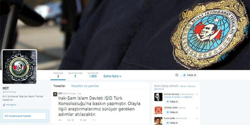 "MİT'ten ""Twitter hesabı"" açıklaması"