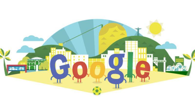 Google Dünya Kupası doodle'ı