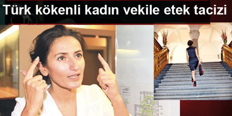 Türk kökenli kadın milletvekiline etek tacizi