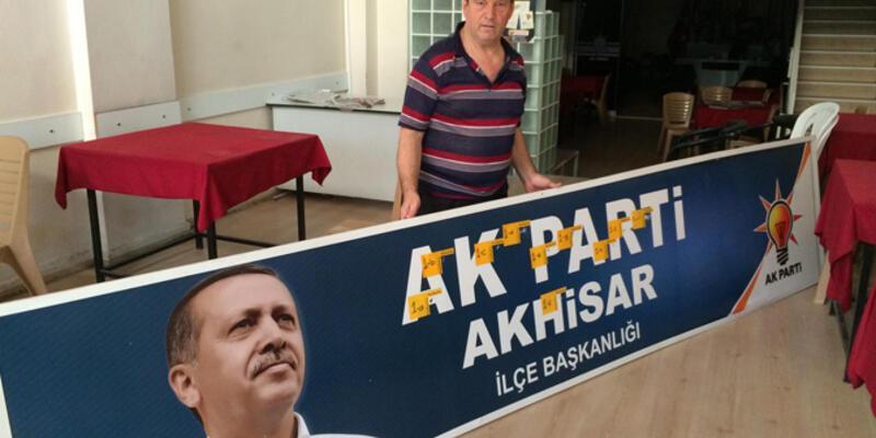 AK Parti ilçe teşkilatına silahlı saldırı!