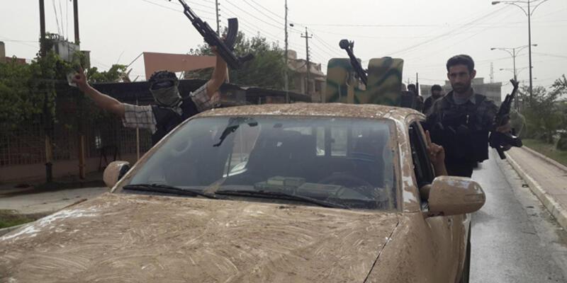 Irak'ta çoğu Türk 25 IŞİD üyesi öldürüldü!