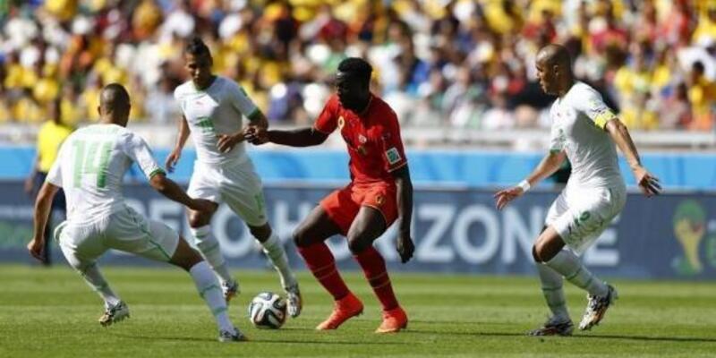 Dünya Kupası: Belçika - Cezayir: 2-1