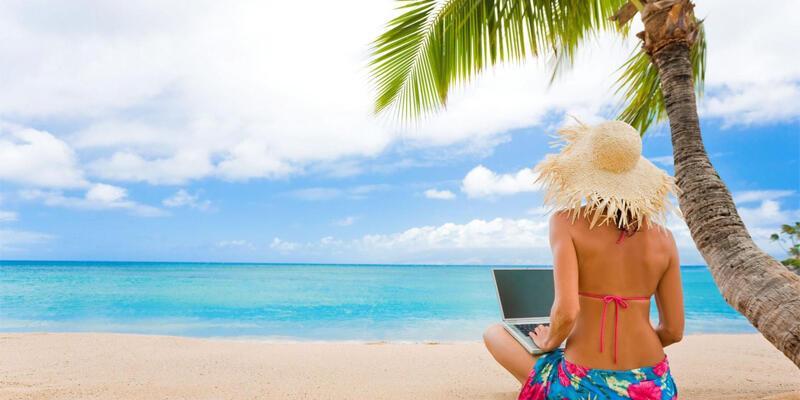 Türkler tatilde de internetsiz yapamıyor