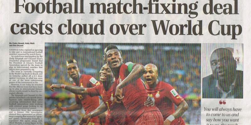 Gana'ya şike suçlaması!