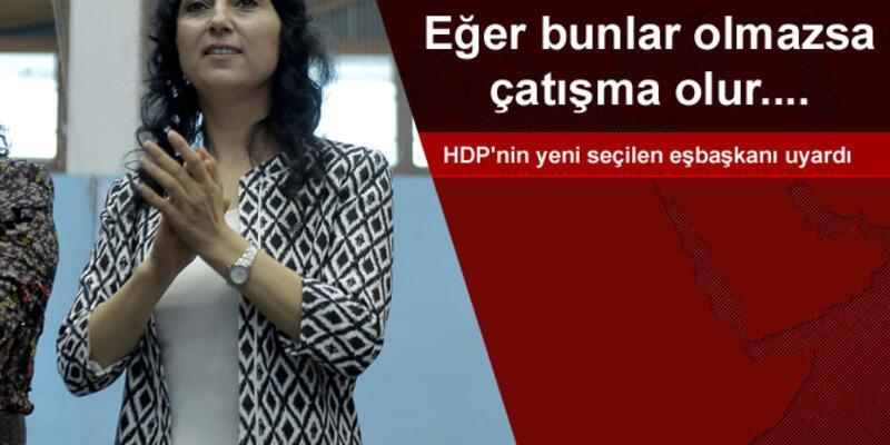 HDP Eşbaşkanı Yüksekdağ'dan yeniden çatışma uyarası