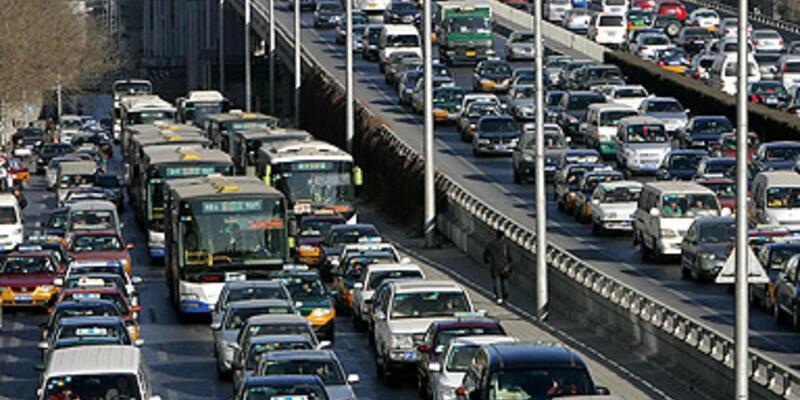 Dünyanın en yoğun ikinci trafiği İstanbul'da
