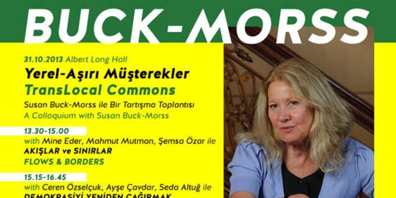 Susan Buck-Morss İstanbul'a geliyor