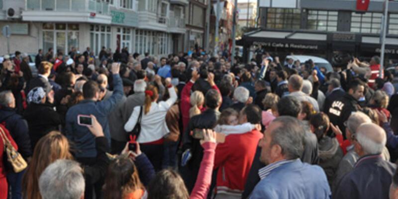 Silivri'de 10 Kasım gerginliği